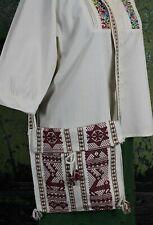 Shoulder Bag Tote Bag Handbag Hand Woven Back Strap Loom Oaxaca Mexico Hippie
