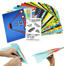 Fold Master 72 Paper Airplane Kit Birthday Party Favors Toys Dotted for Folding