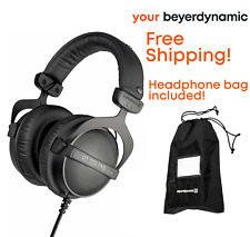 beyerdynamic DT 770 Pro 32-Ohm Studio Mobile Headphone with Carrying Bag, Black