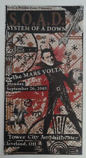 System Of A Down Original Concert Poster Cleveland Ohio 2005 Darren Grealish