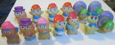 Vintage Hasbro Playskool lot of 13 Glo Bug Glow Worm friend fugues