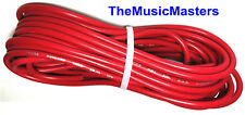 10 Gauge 25' ft Red Auto PRIMARY WIRE 12V Car Boat RV Wiring Power Remote Cable