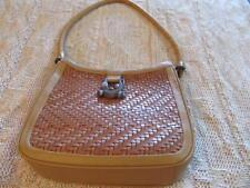 Vintage Barry Kieselstein-Cord Alligator Woven Leather Shoulder Handbag/Purse