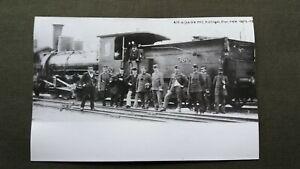 7324 Pressefoto DAMPFLOK Nr. 360 / ex KKSTB 171 / um 1910