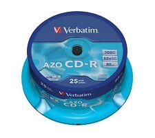 campana 25pz Verbatim CD-R 700mb extra protection