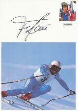 Franz Klammer  Österreich  Ski Alpin Karte original signiert WL 339857