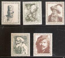 Nederland    Nummer  671/675   Postfris.