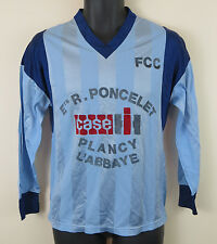 Retro Football Shirt Soccer Jersey Vintage French Blue FCC Maillot S Small