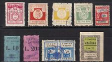 Italy - Local Municipality / Comune - Revenue Fiscal Stamp Collection -