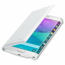 Samsung Galaxy Note Edge Wallet Cover Case Retail Packaging White Flip Cover NEW