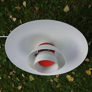 PH 4/3 Deckenlampe weiß Poul Henningsen Design Poulsen mit Label Lampe