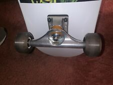 Ridden once 10 seconds: Complete Visual Skateboard Roses 8.0x32.0 Bigfoot Wheels