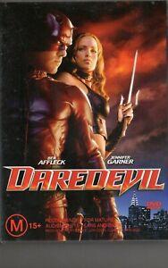 DAREDEVIL - Ben Affleck Jennifer Garner - DVD - NEW - Never played - R4 - PAL