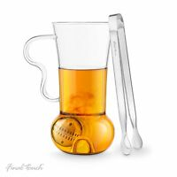 Final Touch Tea Infusion Roller Leaf Infuser Set Loose Mug Cup Gift Set Strainer