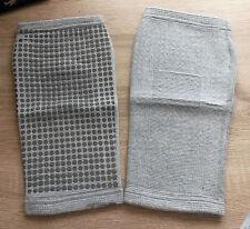 Healing Tourmaline Magnetic Microfibre Vowen Knee Pads (Grey)- Ease Knee Pain