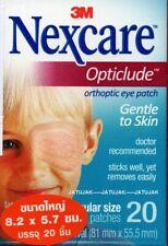 New Nexcare 3M Opticlude Orthoptic Eye Patch Regular 3 Boxes 60 Pcs Expire 2021