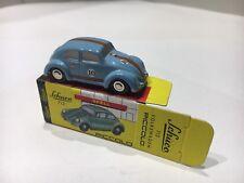 S°36) SCHUCO Piccolo 1:90 VW Käfer hellblau Nur 800 Stück Gulf Racing