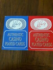 2 Decks(2 Colors)Paris Casino Las Vegas Playing Cards. Used in Casino.