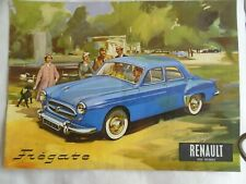 Renault Fregate brochure undated French text
