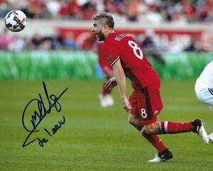Michael de Leeuw signed Chicago Fire MLS Soccer 8x10 photo autographed 3