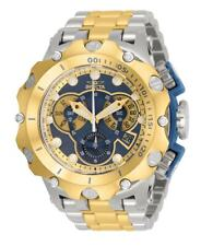 Invicta Men's 51mm Hybrid Venom Swiss Chronograph 2 Tone Gold 500m Diver Watch