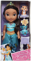 NEW Disney Princess Jasmine Tea Time With Rajah Tea for Two Toddler Doll