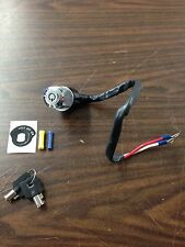 BARREL KEY IGNITION SWITCH FOR HARLEY DAVIDSON FXD DYNA 1991 - 1993 & CUSTOM