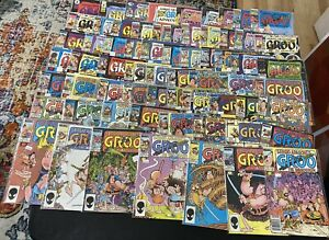 Massive Collection 65 Comic Books: Groo The Wanderer Issues, TPBs, Prestige Lot