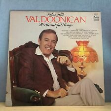 Relax With Val Doonican 20 Beautiful Tracks UK Vinyl LP EXCELLENT CONDITION