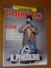 EUROPEO 1989/3=UMBERTO ECO LIBRO=FRANCESCO GUCCINI=ARNOLD SCHWARZENEGGER=