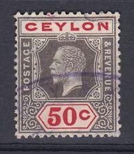 Independent Nation Single George V (1910-1936) Ceylon Stamps