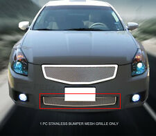 Stainless Steel Mesh Grille Bumper Insert For 07-08 Nissan Maxima