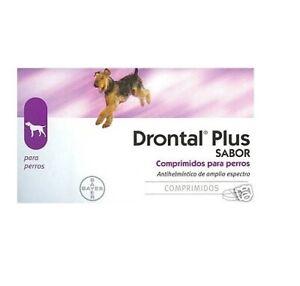 8Drontal Plus Sabor:  8 comprimidos(1 blister) Antihelmíntico de amplio espectro