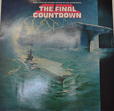 "OST - SOUNDTRACK - THE FINAL COWNTDOWN - JOHN SCOTT 12"" LP (M30)"