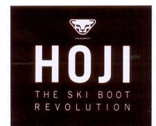 Dynafit Hoji The Ski Boot Revolution Sticker Decal Black And White 4 x 3 5/8 New