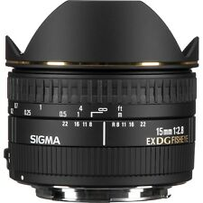 Sigma 15mm f/2.8 EX DG Diagonal Fisheye Lens for Canon EF-
