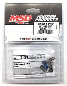 MSD 8464 MSD Distributor Bushing & Spring Set-Billet Distributor Advance Kit