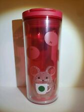 Starbucks 2020 Year Of The Rat Mouse 12 oz. Tumbler Target Exclusive