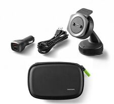 Official Tom Tom Rider 400 and 40 Car Mount kit and protective case set