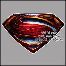 Fridge Fun Refrigerator Magnet SUPERMAN MAN OF STEEL Movie Logo DIE-CUT -Vrsn A-