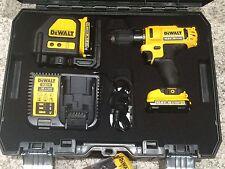 DeWalt Charger for Drill, Laser, Li-Ion Battery 10.8V, 14.4V,18Volt DCB115