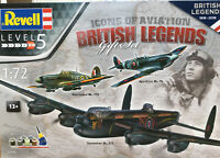 REVELL 05696 SPITFIRE HURRICANE LANCASTER Legends GIFT SET plastic kits 1:72nd