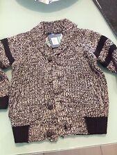 Maglia Maglioncino Ovs Grigio Bambino 3-4 Anni 104 Cm invernale con bottoni