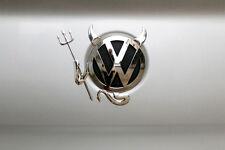 1x New Arrival PVC 3D Devil Car Custom Demon Stickers Decals For VW Volkswagen
