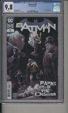 BATMAN #92 - CGC 9.8 - PAWNS OF THE DESIGNER - 3716153002