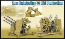 1/6 scale Dragon Models 71439, 2cm Flakvierling 38, mid- production