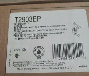 Moen T2903EP Gibson Posi-Temp Pressure Balanced Tub and Shower Trim in Chrome
