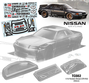 TC082 1/10 Pandem Nissan GTR R32, 200mm Tamiya TT02 TT02 Drift