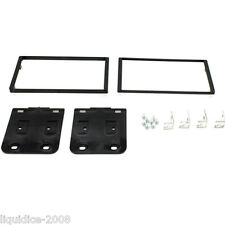 CT23KI04A FOR KIA SPORTAGE 2005 to 2008 BLACK DOUBLE DIN FASCIA ADAPTER PANEL