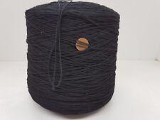 Wolle Garn Stricken weben| Kone schwarz baumwolle handstrickgarn 2,4 kg|pay28